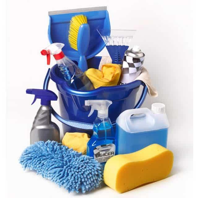أدوات شركة التنظيف